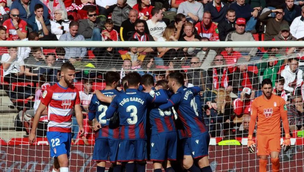 El Levante logra la victoria ante el Granada