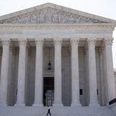Imagen de Archivo de la fachada del Tribunal Supremo de EEUU.