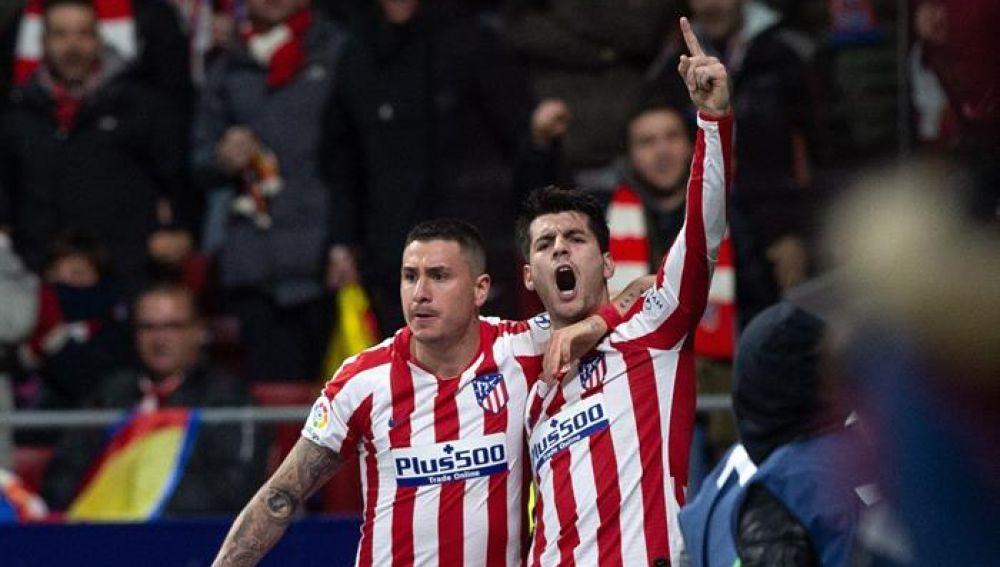Morata marca en el Atlético de Madrid - Osasuna