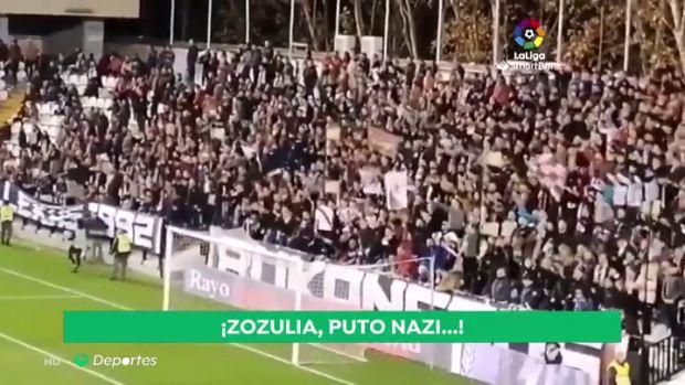 Suspendido el partido entre el Rayo y el Albacete por insultos a Zozulya