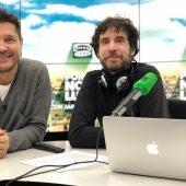 Mario Viciosa y Jaime Cantizano en Por fin no es lunes