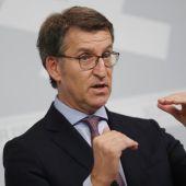 El presidente de la Xunta de Galicia, Alberto Núñez Feijóo. Elecciones gallegas 2020