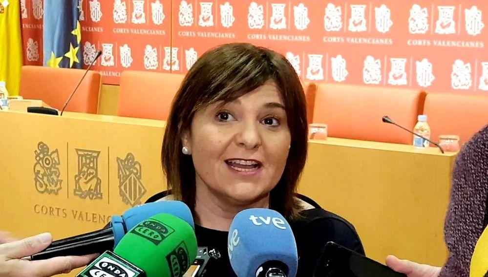 Isabel Bonig, presidenta del PP CV.