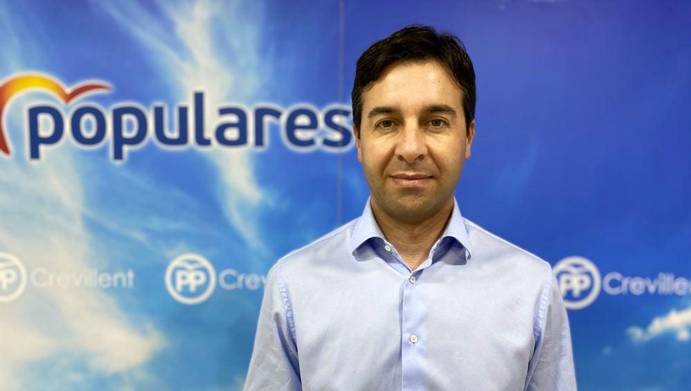 Miguel Ángel Sánchez, portavoz del PP en Crevillent.