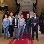 El director regional de Atresmedia Radio en Baleares, Juan Carlos Enrique, presenta el concierto de Europa FM en las fiestas de Sant Sebastià 2020