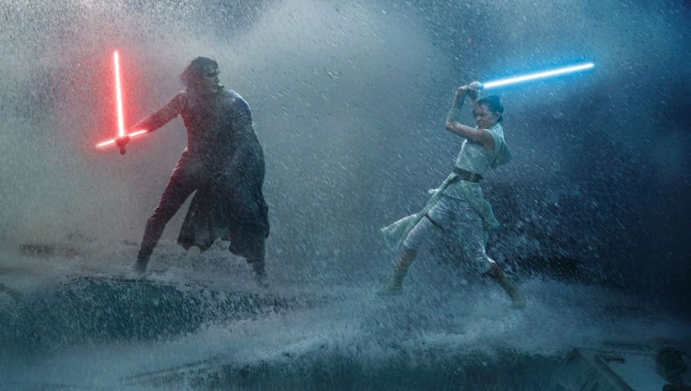 Fotograma de 'Star Wars: El ascenso de Skywalker', la novena película de la saga galáctica