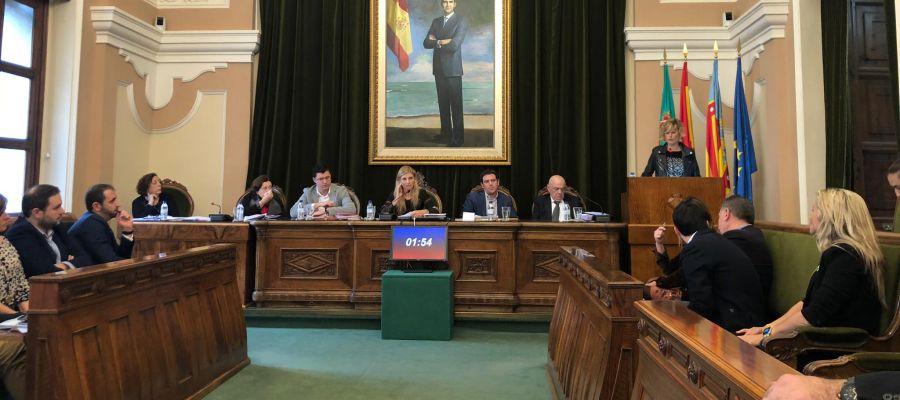 Pleno Ayuntamiento de Castellón.