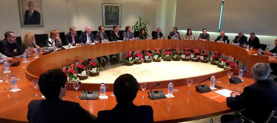 Reunión del Consejo Social de la UMH de Elche.