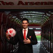 Mikel Arteta, nuevo entrenador del Arsenal