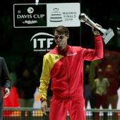 Rafa Nadal, en la Copa Davis