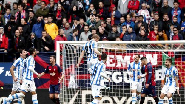 Goles Del Osasuna 3 4 Real Sociedad De La Jornada 18 De Laliga Santander Onda Cero Radio