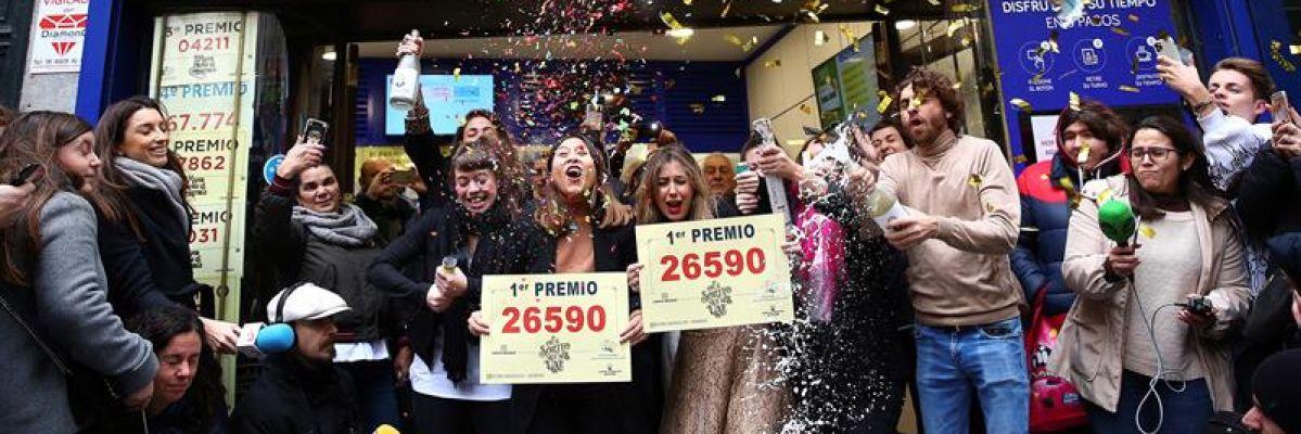 El Gordo de Navidad deja una lluvia de millones en toda España