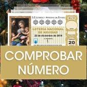 Comprobar Lotería de Navidad 2019