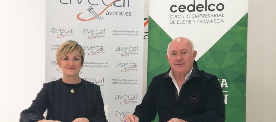 Marián Cano (Avecal) y Joaquín Pérez (Cedelco).