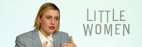 La directora Greta Gerwig, durante la entrevista con Kinótico sobre su película 'Mujercitas'