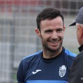 Manu Herrera, portero del Atlético Baleares