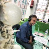 Carlos Alsina en el Hospital Niño Jesús de Madrid