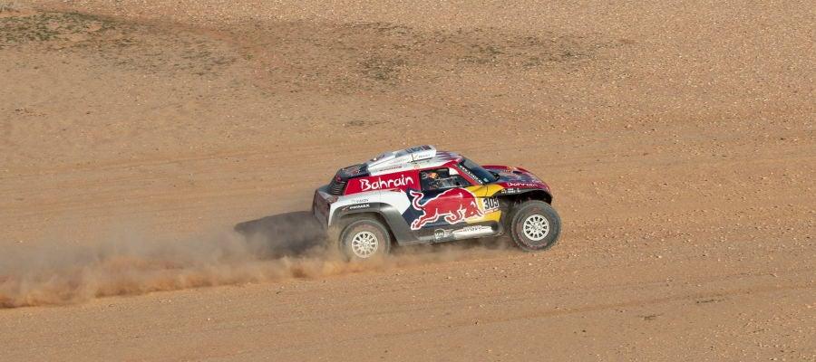 Carlos Sainz, en el Dakar 2020