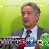 """Revilla niega presiones del Santander para cambiar el voto del PRC: """"El que ha cambiado es Sánchez"""""""