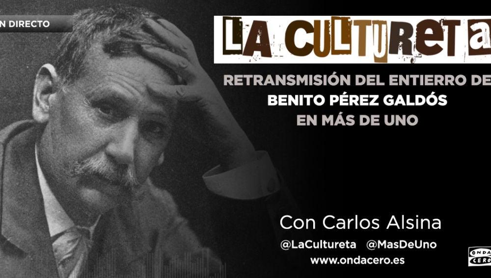 EN DIRECTO Entierro de Benito Pérez Galdós