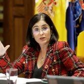Carolina Darias, que será la nueva ministra de Política Territorial y Función Pública en el Gobierno de coalición de Pedro Sánchez