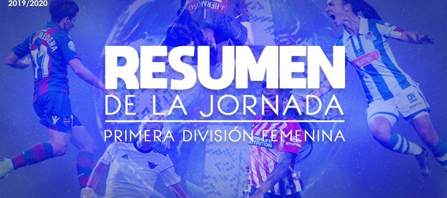 Resumen de la jornada de la Primera división femenina