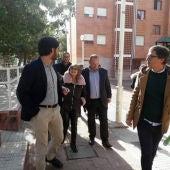 Visita del conseller de Vivienda Santa Pola.
