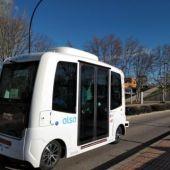 El autobús eléctrico y sin conductor de la Universidad Autónoma de Madrid