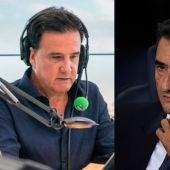 José Ramón de la Morena y Ernesto Valverde