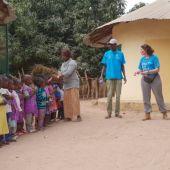 Alumnas del CEU en Senegal