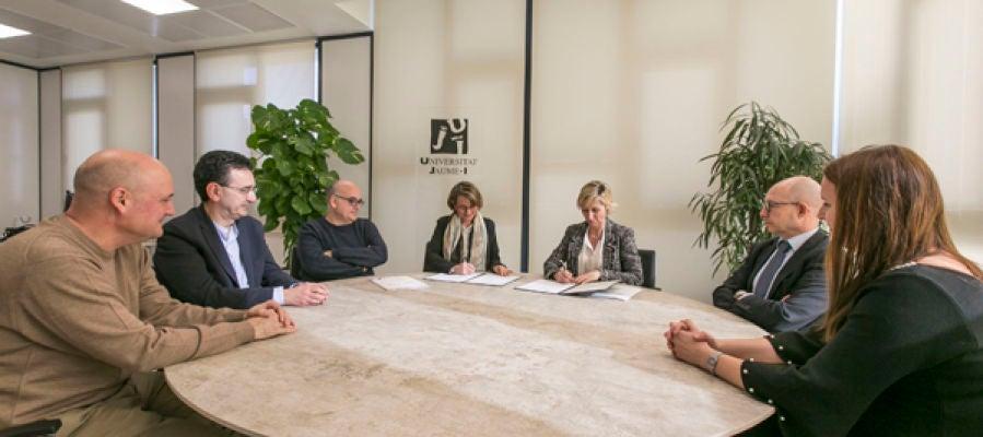 La UJI y la Asociación Valenciana de la Industria de la Automoción colaborarán en investigación, formación y desarrollo tecnológico