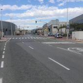Polígono industrial en Crevillent.