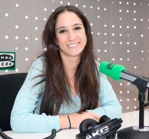 Estefanía Molina en los estudios de Onda Cero