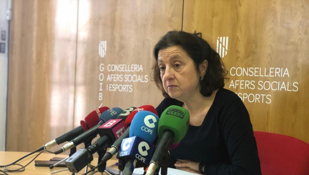 Fina Santiago, consellera balear de Asuntos Sociales