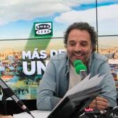 Daniel Guzmán con Carlos Alsina en Onda Cero