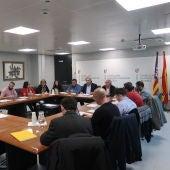 El Conseller de Educació, Martí March, en la reunión mantenida con Asociaciones de Directores de centros educativos de Baleares.