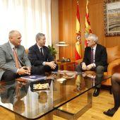El presidente de la Cámara de Cuentas expone sus planes / Cortes de Aragón