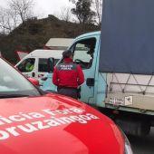 El camionero denunciado por conducir viendo una telenovela