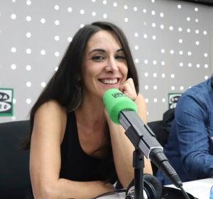 Isabel Vázquez en los estudios de Onda Cero
