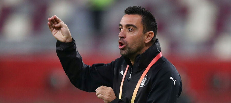 El entrenador del Al Saad, Xavi Hernández.