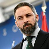 El líder de Vox, Santiago Abascal, en el Congreso de los Diputados