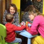 Aurelia Sánchez ha visitado el centro de Aspacecire en Ciudad Real