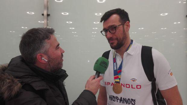 """Gedeón Guardiola:  """"Hemos trabajado conscientes de que el balonmano español tenía que estar en lo más alto"""""""