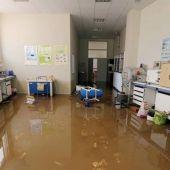 Estado en el que quedó uno de los laboratorios en las inundaciones de junio de 2018