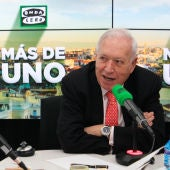 Carlos Alsina con José Manuel García-Margallo en Onda Cero