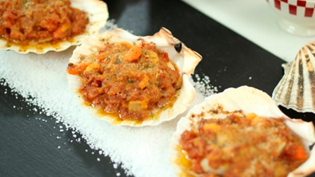 Las recetas de Robin Food: Vieiras a la gallega
