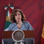 Irene Lozano, secretaria de Estado para el Deporte.