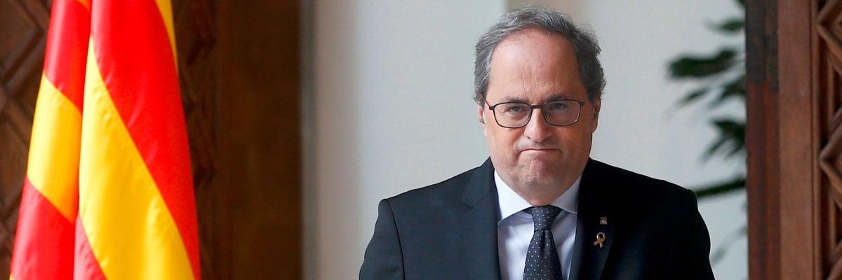 Quim Torra anunciará la fecha de las elecciones en Cataluña cuando apruebe los presupuestos