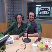 Lara Vivero y Andrés Pereira