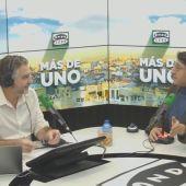 VÍDEO Entrevista completa a Carmelo Gómez en Más de uno 30/01/2020